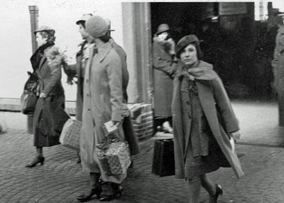 Embarking in America 1935
