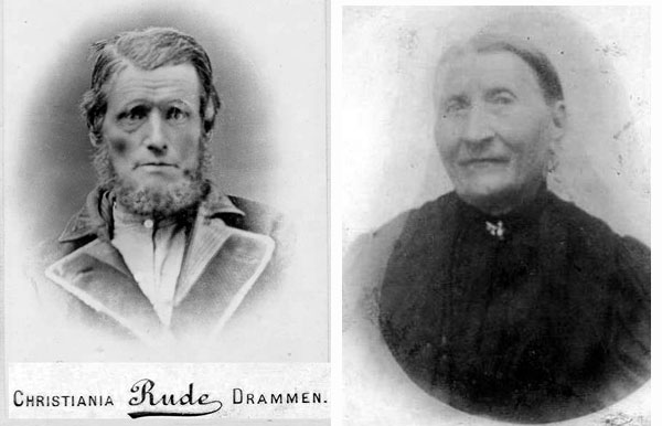 My Gg-grandparents Jorgen and Anna Wold from another cousin