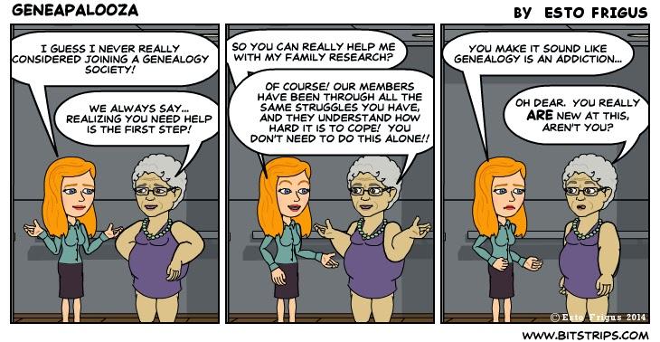 Geneapalooza Comic