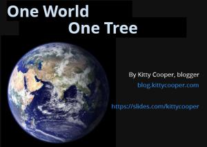 OneWorld,OneTree