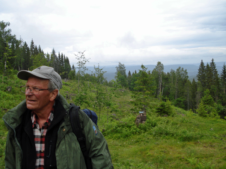 Hans, the local historian and our guide