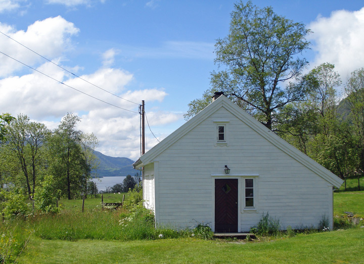 The old farm house at Tveito
