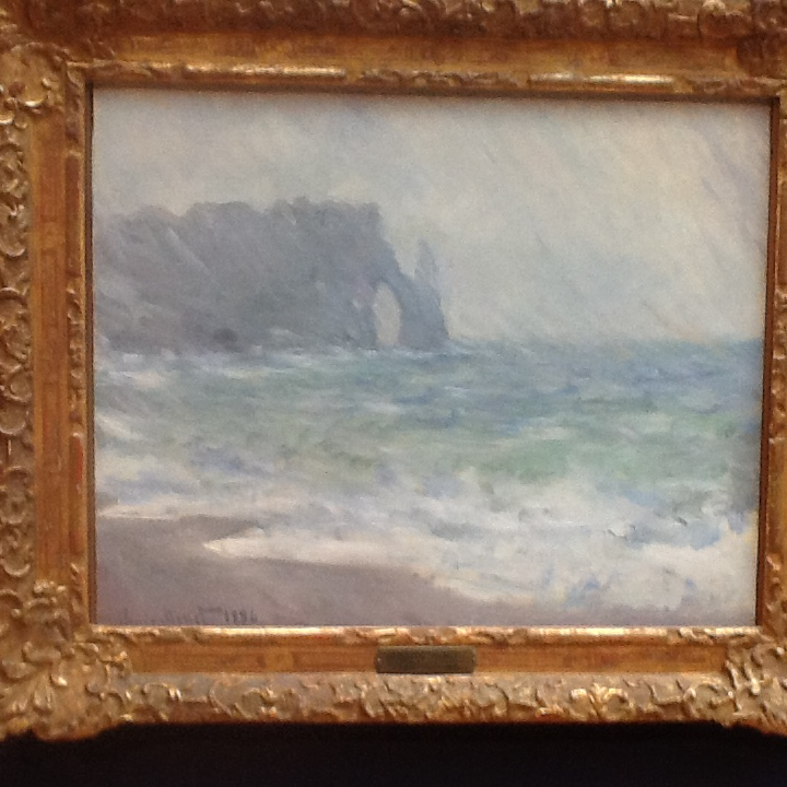 A classic Monet in Normandy