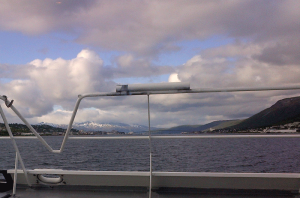 Tromsø from a boat