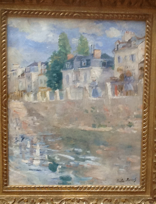 A Paris scende by Berthe Morisot