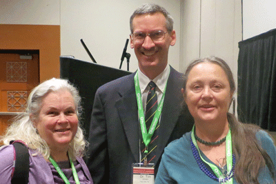 Diane, Tim Janzen, and Kitty at the 2013 Rootstech