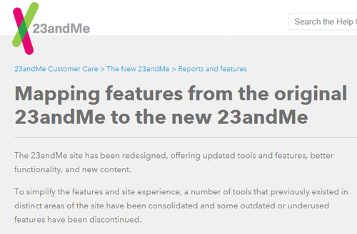 Update23andme