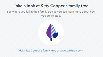 Link Your Online Tree to 23andme | Kitty Cooper's Blog