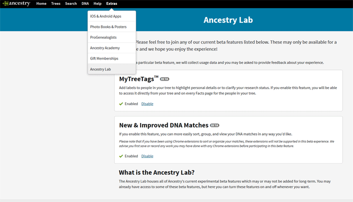 Ancestry's new DNA feature: ThruLines | Kitty Cooper's Blog